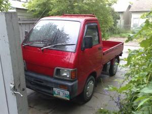 A mini truck