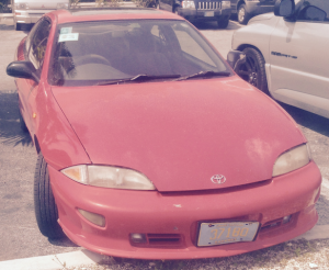 The Toyota Cavilier!